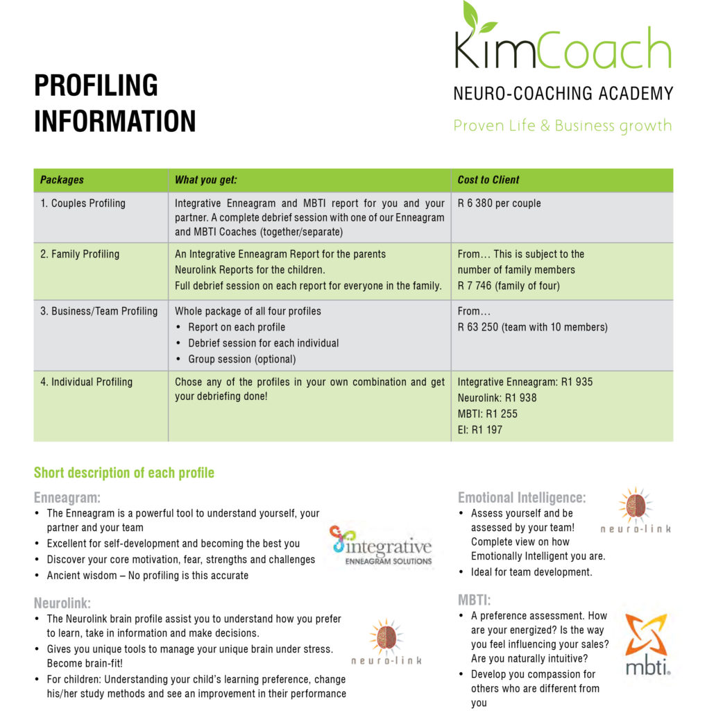 profiling services